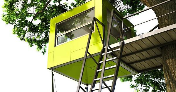 Baumquadrat la casa sull 39 albero prefabbricata da giardino - La casa sull albero mobili ...