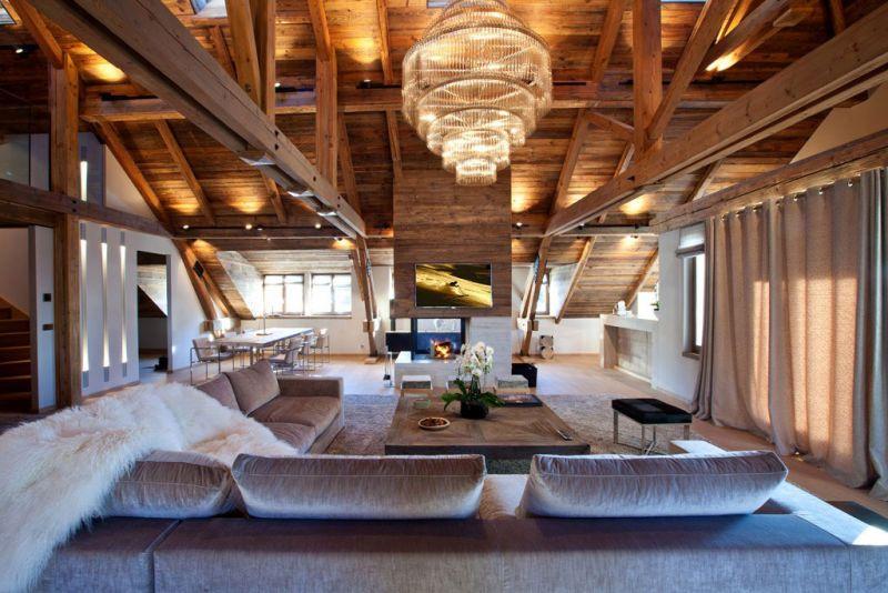 Arredare la zona giorno di una casa prefabbricata in legno for Design apartment 2 camere
