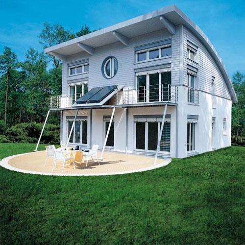 Casa passiva connubio tra casa modulare e risparmio - Esposizione solare casa ...