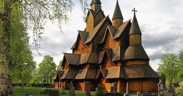 Edifici religiosi in legno le stavkirker norvegesi - Mobili norvegesi ...