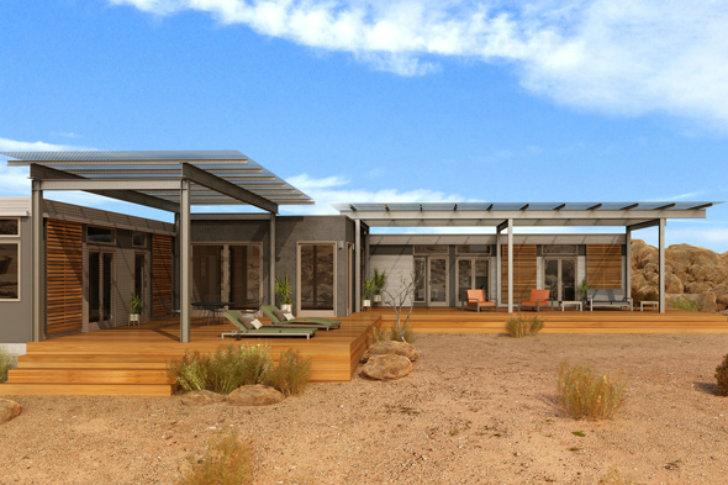 Case Prefabbricate Per Vivere Il Deserto