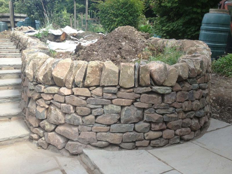 how to build a waterfall wall with tech bloc stone