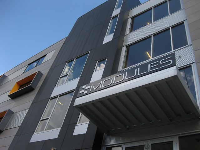 The modules, la casa prefabbricata per studenti di Philadelphia
