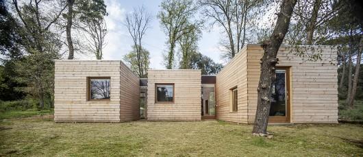 L 39 incontro tra bioclimatica e prefabbricazione in legno - Casas bioclimaticas prefabricadas ...