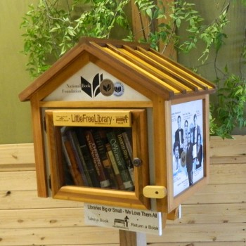 Little free library le casette in legno per condividere i for Vendita mobili di design on line