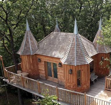 Se una casa sull 39 albero non basta ecco un castello - Bagno prefabbricato costo ...