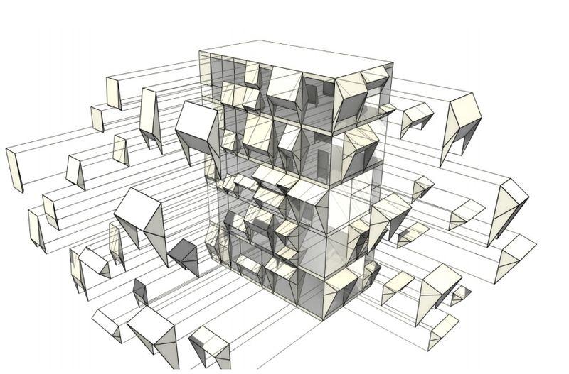 Endesa pavillon un nuovo modo di concepire le forme for Avvolgere le planimetrie del portico