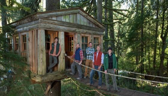 Il sogno di una casa sull 39 albero guida alle strutture e for Kit per costruire casa sull albero