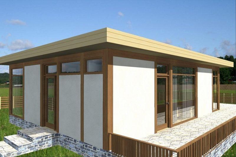 La casa cubo come si costruisce con il legno in sardegna for Tetto della casa moderna