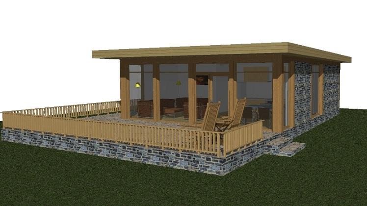La casa cubo come si costruisce con il legno in sardegna for Come costruisci una casa