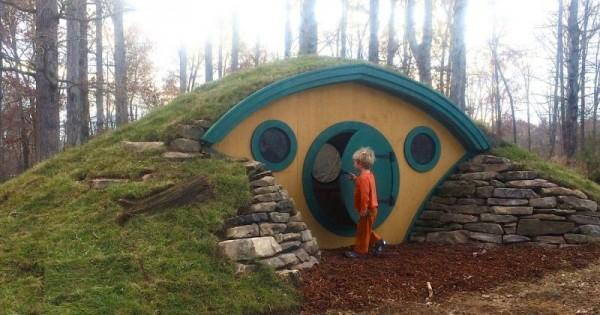 Casetta In Legno Per Bambini La Hobbit Hole La Casetta In