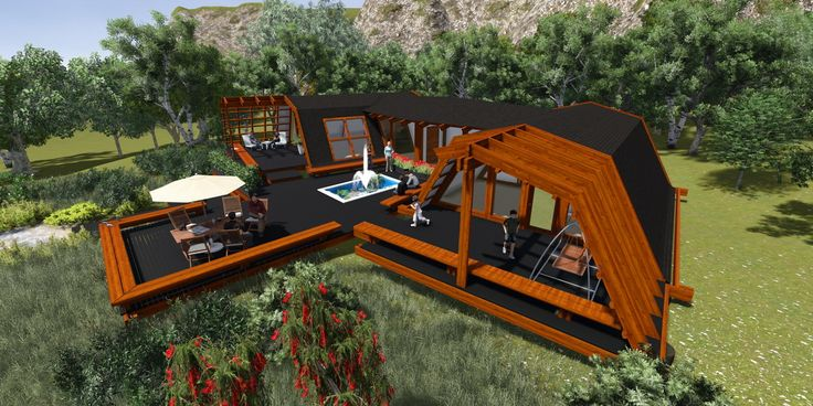 Casa in legno prefabbricata zeroenergy per una romania for Case di legno in romania