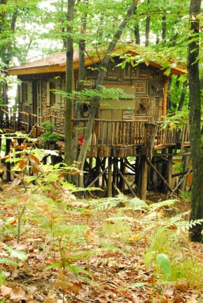 Case in legno sugli alberi in italia nasce il primo villaggio - Casa sugli alberi ...