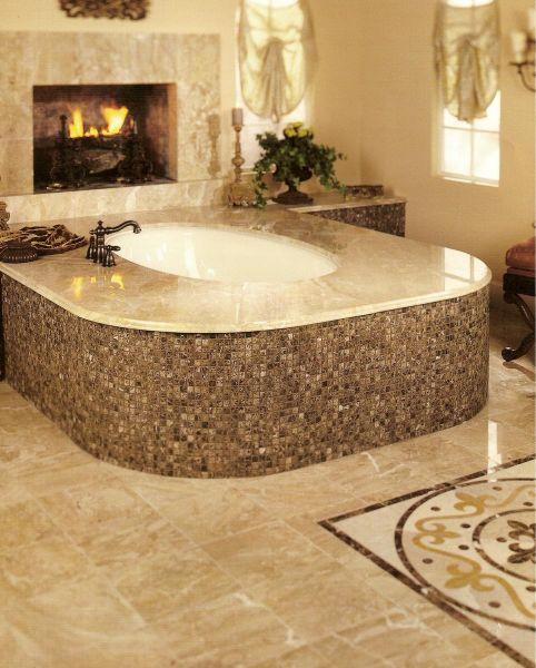 Bioedilizia l 39 utilizzo delle pietre naturali - Vasca da bagno in pietra ...