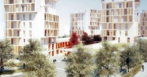 I condomini di 9 piani prefabbricati in legno con pannelli for Piani prefabbricati