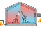 Il riscaldamento radiante o riscaldamento a pavimento for Case in legno difetti