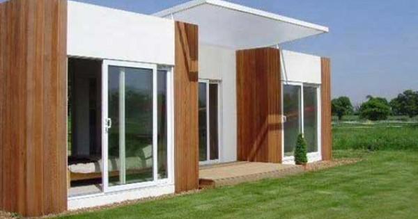 Il sistema more la costruzione di una casa con elementi prefabbricati in 8 settimane - Costruzione di una casa ...