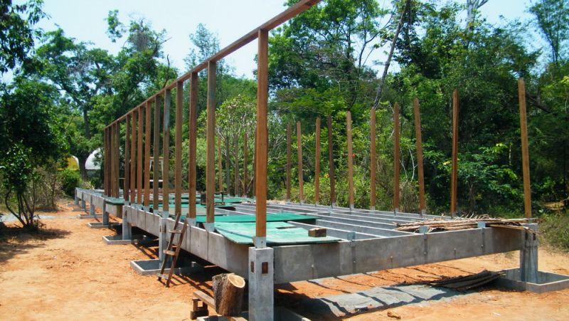 Fondazioni di una casa