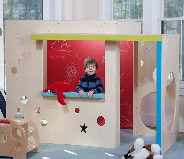 Le casette in legno prefabbricate da interno per bambini for Casetta da giardino per bambini usata