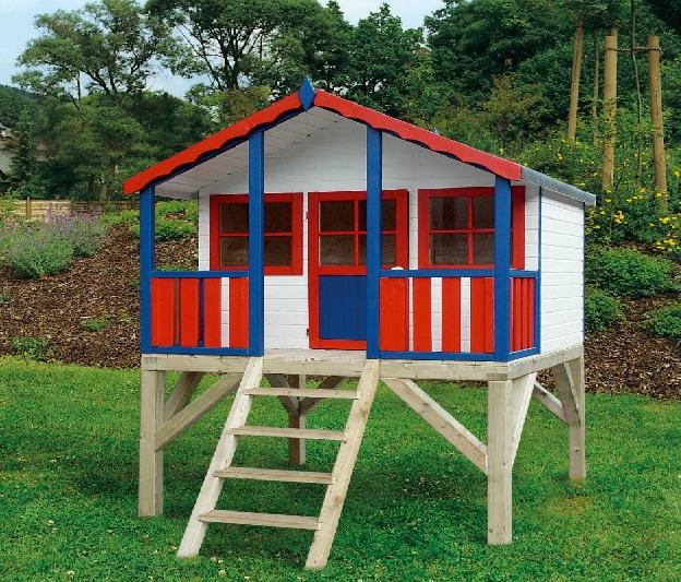 Casette da giardino per bambini strutture materiali e prezzi for Grande casetta per bambini