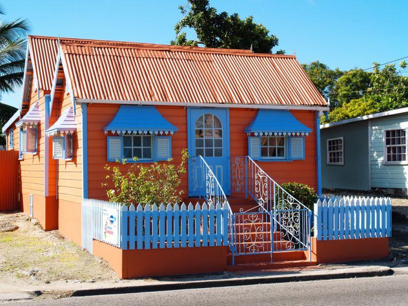 Il colore delle case prefabbricate esempi di splendide - Colori case esterne ...
