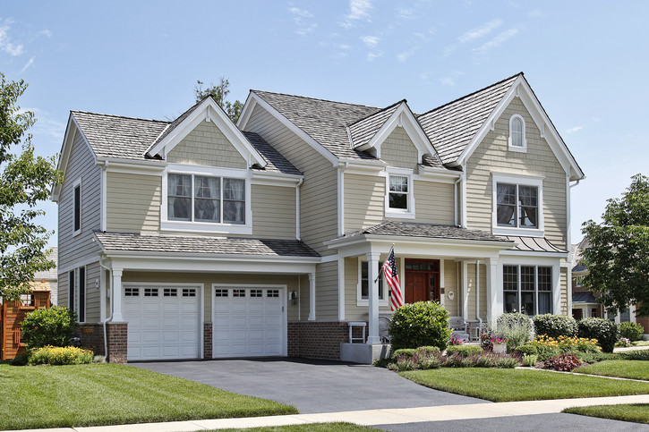 Il colore delle case prefabbricate esempi di splendide for Prospetti di villette