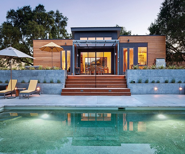 La forma delle case prefabbricate in legno i vincoli e le - Casa legno moderna ...