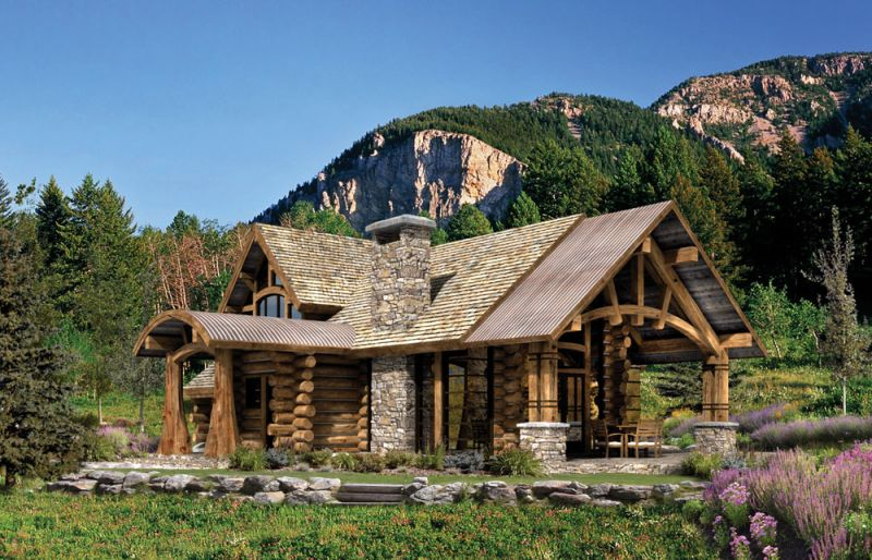 Case In Tronchi Di Legno Trentino : Le log house le case con il legno a vista o case in tronchi