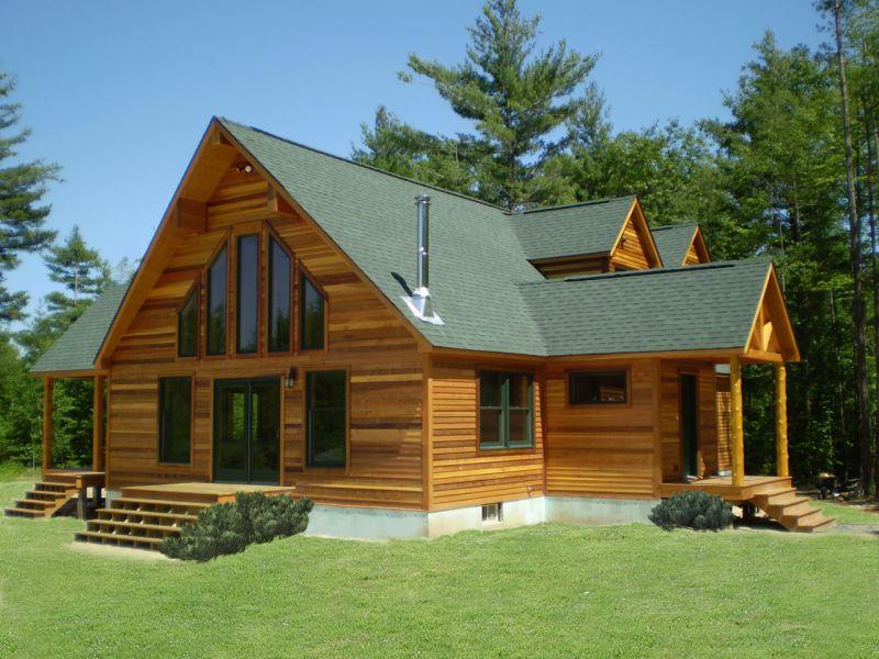 Come costruire una casa in legno a basso consumo for Tempo per costruire una casa