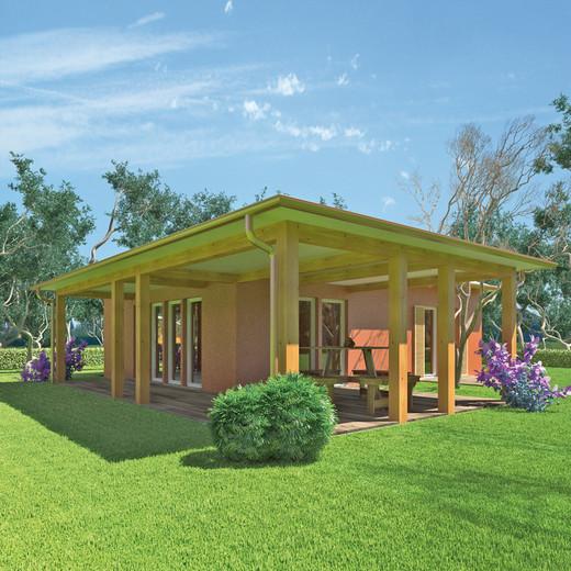 Case in legno wolf haus caratteristiche e tipologie for Migliori case prefabbricate