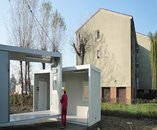I prefabbricati modulari temporanei per l 39 emilia romagna for Prefabbricati abitativi