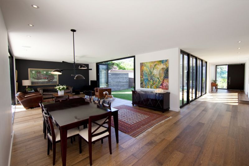 Le case prefabbricate abbattono gli elementi di troppo e for Piani di casa open space