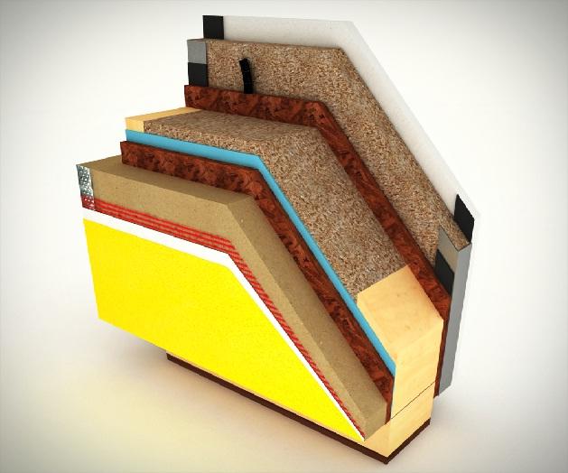 Pareti piene e pareti a telaio nelle case prefabbricate - Parete interna in legno ...