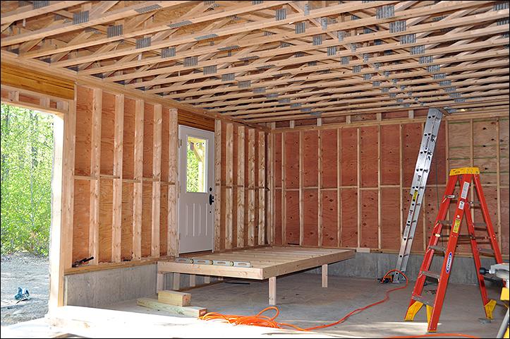 Strutture a telaio baloon framing e timber framing uno for Moderne case a telaio