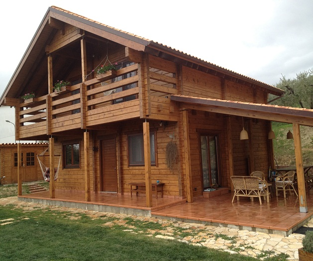 prefabbricati legno usati