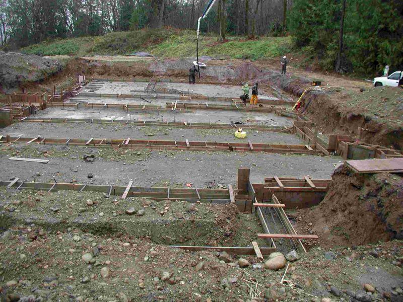 fondamenta per case in legno