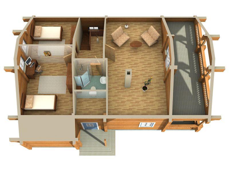 Ristrutturare con il legno possibile ristrutturare con for Interni case ristrutturate