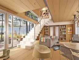Monopiano e multipiano di una casa prefabbricata in legno for Migliori piani casa a due piani 2016
