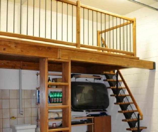 Il soppalco prefabbricato in legno come sceglierlo e for Piano di costruzione in legno soppalco
