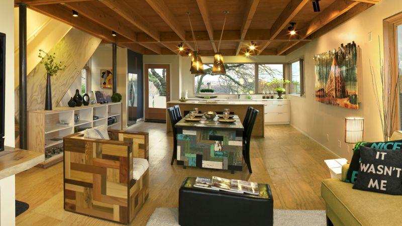 Le qualit del legno bellezza stile e prestazioni for Interno di una casa