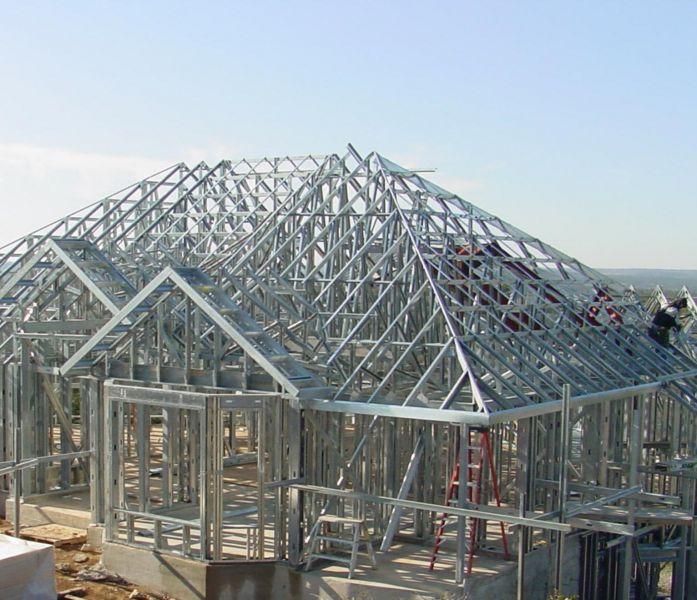 Legno acciaio e vetro meraviglia per gli occhi cura e misura nella progettazione - Struttura in ferro per casa ...