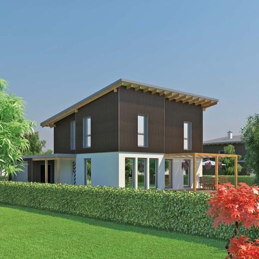 Case in legno wolf haus caratteristiche e tipologie for Casa ecosostenibile prefabbricata