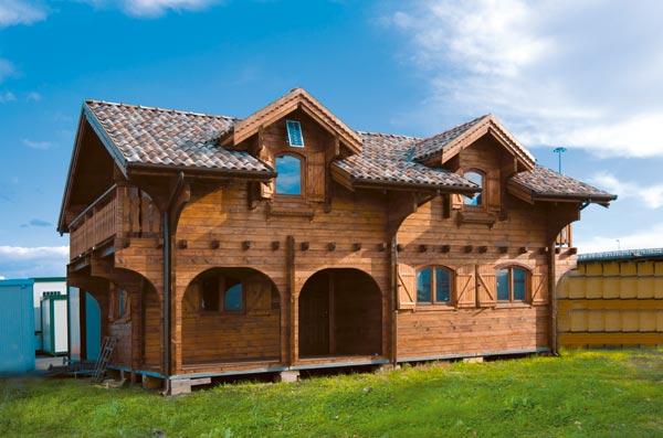 Orvi - Roma - Case prefabbricate in legno